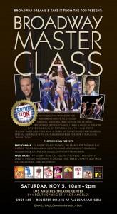Broadway Master Class
