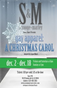 gay apparel: A Christmas Carol