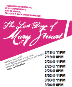 The Last Days of Mary Stuart poster
