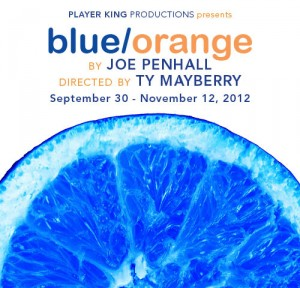 Blue/Orange Poster