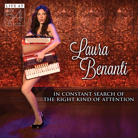Laura Benanti CD Cover