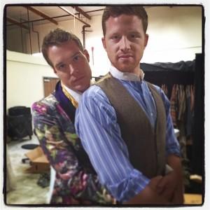 Mason & Boone backstage