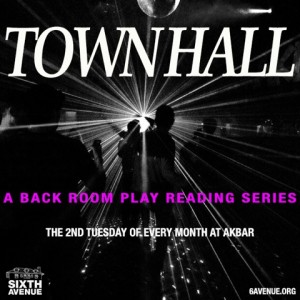 Town Hall poster - Sixth Avenue