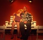 Thea Gill and Josh Randall